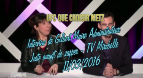 Interview de Gilbert MAIRE, secrétaire de l'UFC Que-Choisir de Metz