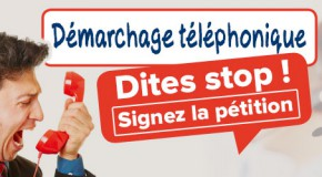 Enquête démarchage téléphonique – une pétition contre le harcèlement
