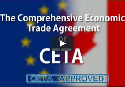 CETA (Comprehensive Economic and Trade Agreement